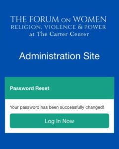 Forum on Women at The Carter Center